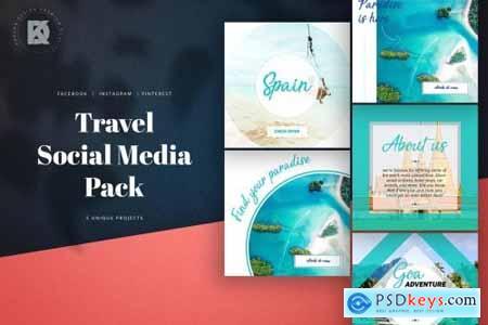 Travel Social Media Pack 2