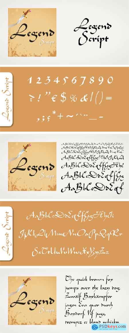 Legend Script Font
