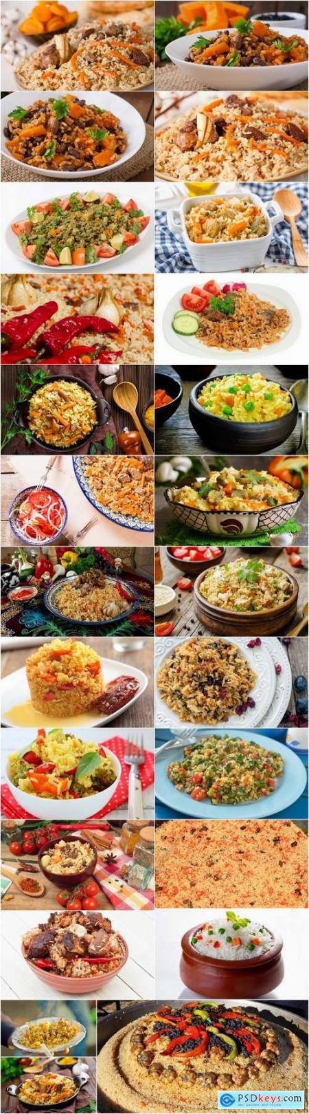 Pilaf rice dish 25 HQ Jpeg