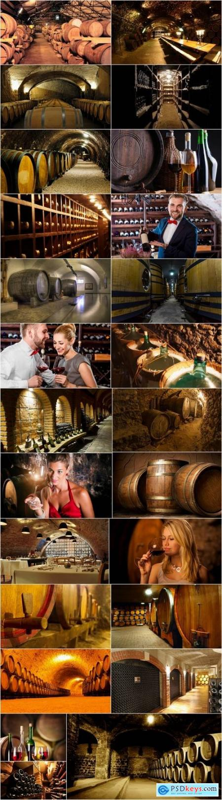 Wine cellar barrel room capacity basement 25 HQ Jpeg