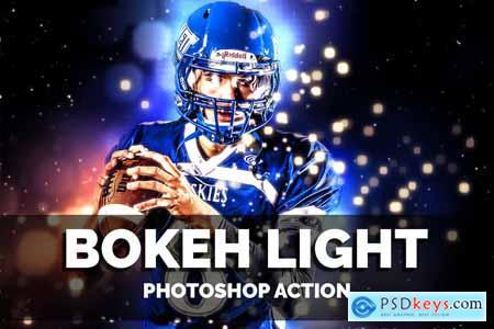 Creativemarket Bokeh Light Photoshop Action
