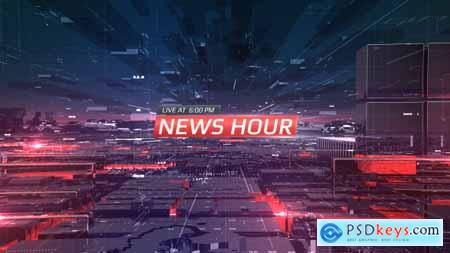 Videohive News Hour Opener Free