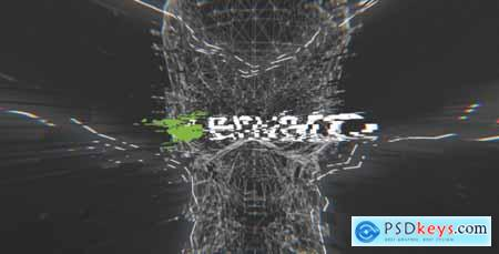 Videohive Dark Glitch Logo Free