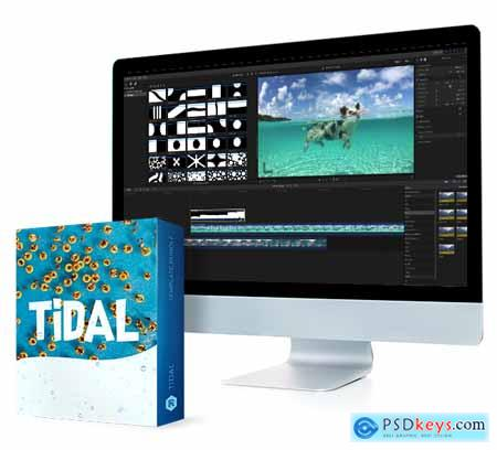 Rocketstock Tidal - 100 Fun Video Transitions Free