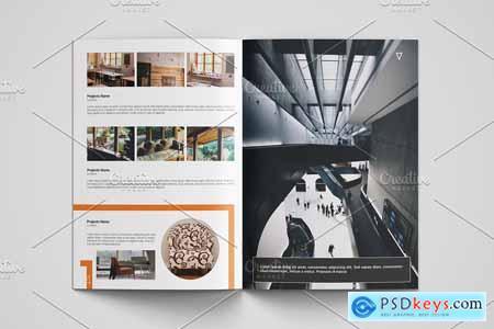 Creativemarket Interior Designer Portfolio V14