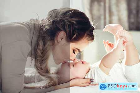 Creativemarket NEWBORN Mobile Lightroom Presets