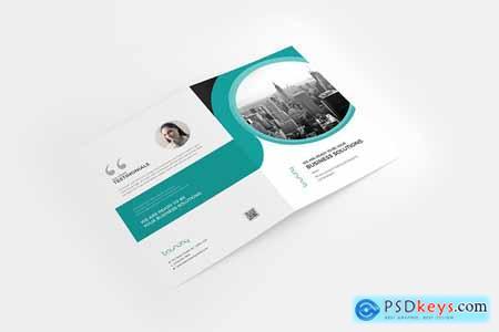 CreativeMarket A4 Bifold Brochure