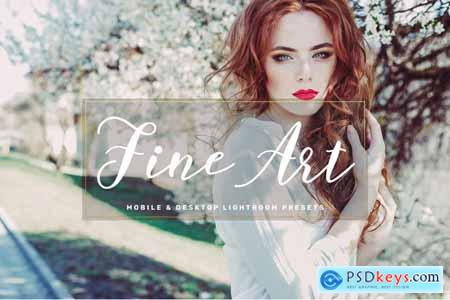Thehungryjpeg Fine Art Mobile & Desktop Lightroom Presets