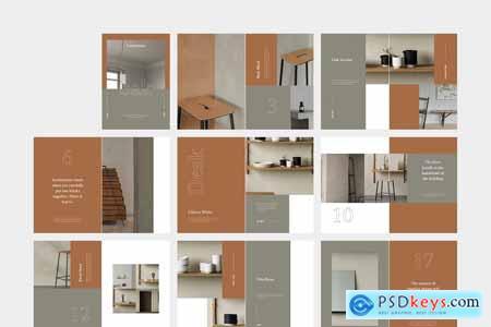 Creativemarket OAK Interior Design Lookbook