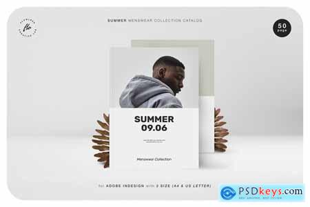 Creativemarket SUMMER Menswear Collection Catalog