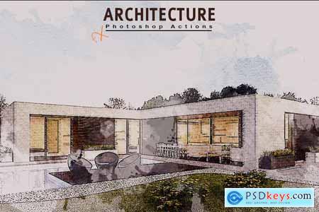 Creativemarket Architecture Photoshop Action