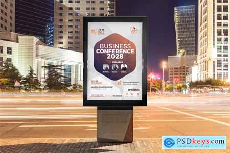 Creativemarket Event Conference Poster Template