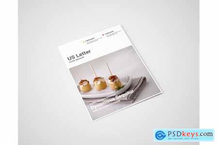 Creativemarket Flyer Mockup - US Letter