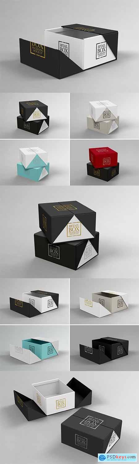 VOLUME 03 Retail Box Packaging Mockups