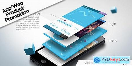 Videohive App Web Product Promotion Free