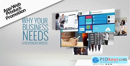 Videohive Promotion Web App Free