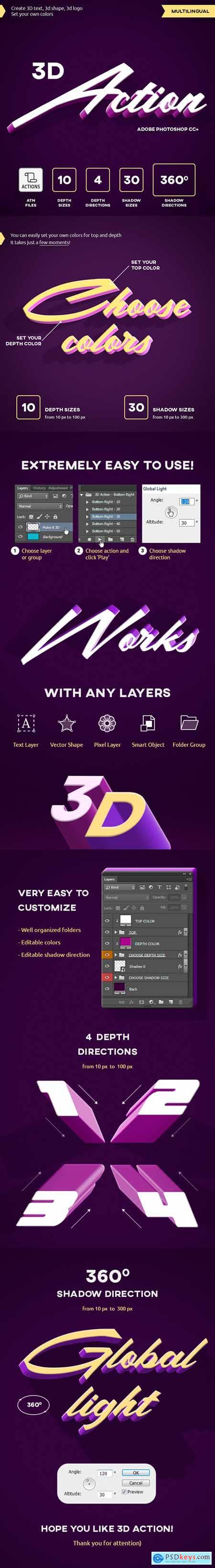 Graphicriver 3D Action