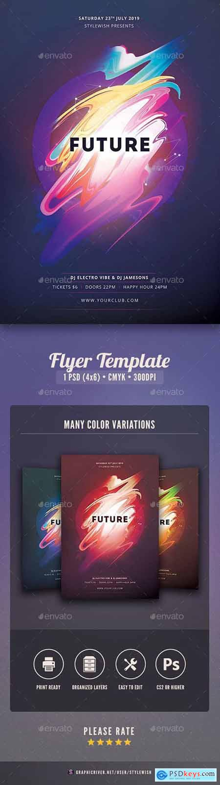 Graphicriver Future Flyer
