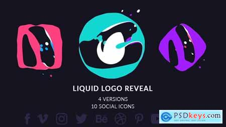 Videohive Simple Liquid Logo Free