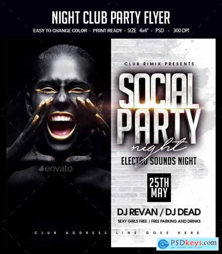 Graphicriver Night Club Party Flyer