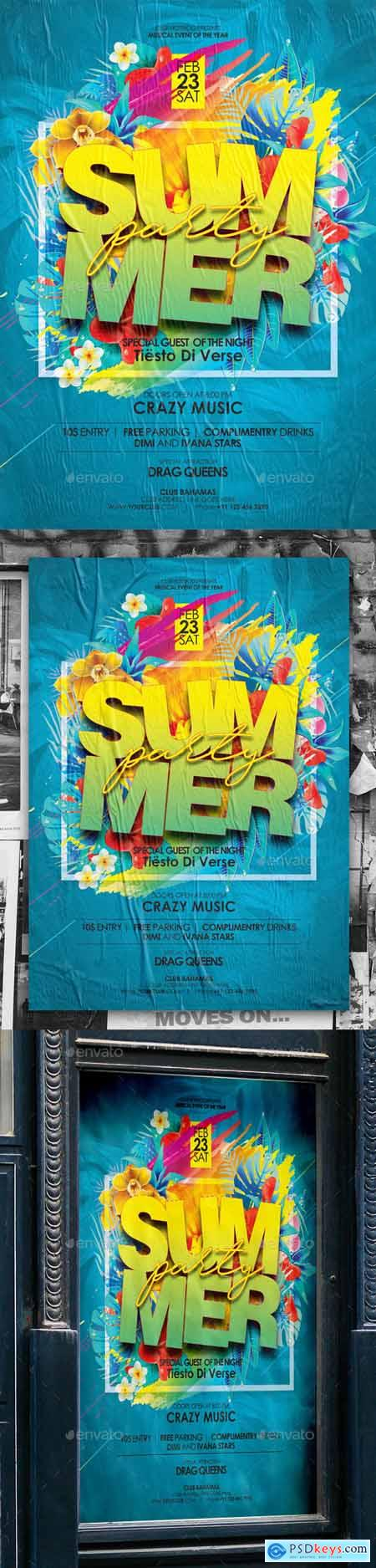 Graphicriver Summer Poster