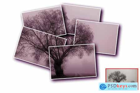 Creativemarket Vertical Panels Portrait V2 Photoshop Action