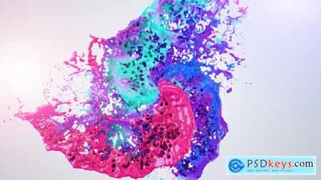 Videohive Colors Of Liquid Logo Reveal Free