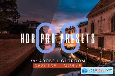 Creativemarket 8 HDR Pro Presets for Lightroom