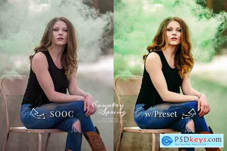Creativemarket Lightroom Presets Country Spring