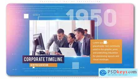 Videohive Corporate Timeline Presentation Free