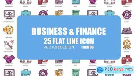 Videohive Business And Finance - Flat Animation Icons Free