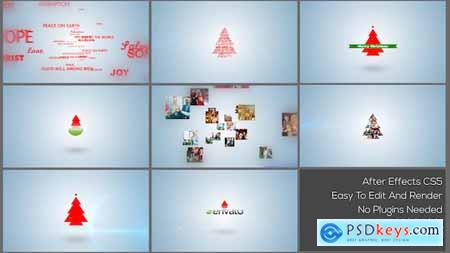 Videohive Typo & Video Christmas Logo Intro Free