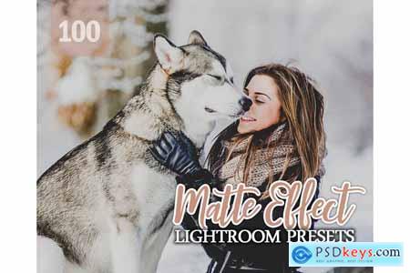 Creativemarket 100 Matte Effect Lightroom Presets