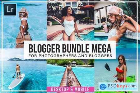 Creativemarket Blogger Bundle Desktop And Mobile
