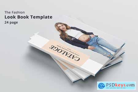 Creativemarket Fashion Catalog Lookbook