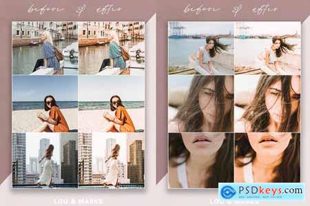 Creativemarket Grapefruit Blogger Mobile Presets