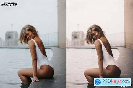 Designbundles Neo Tanning Studio Theme Color Grading photoshop actions