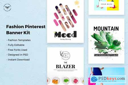 Creativemarket Pinterest Social Media Templates
