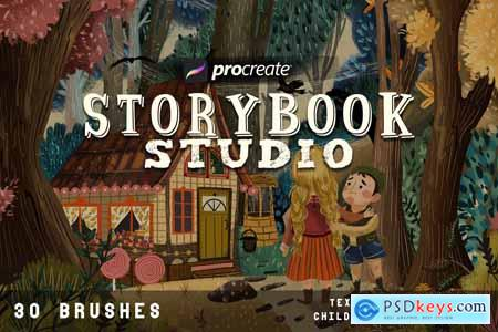 Creativemarket Storybook studio for Procreate