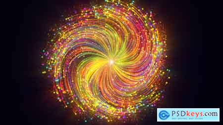Videohive Swirly Color Trails Logo Reveal Free