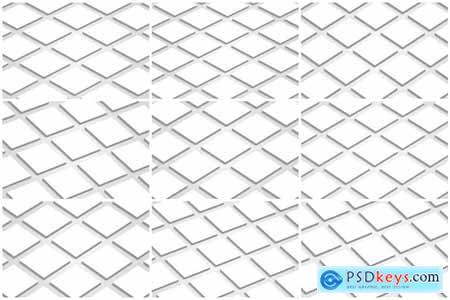 Creativemarket 3D Square Card Mock-up PSD