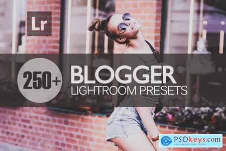 Creativemarket Blogger Lightroom Presests bundle