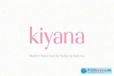Creativemarket Kiyana Modern Sans Font