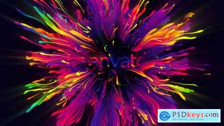 Videohive Colors Of Trails Logo Reveal Free