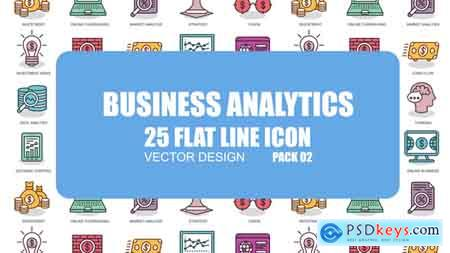 Videohive Business Analytics - Flat Animation Icons Free