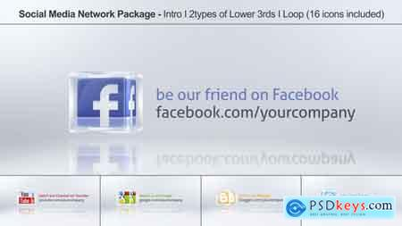 Videohive Social Media Network Package Free