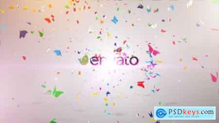Videohive Colorful Butterfly Logo Reveal II Free