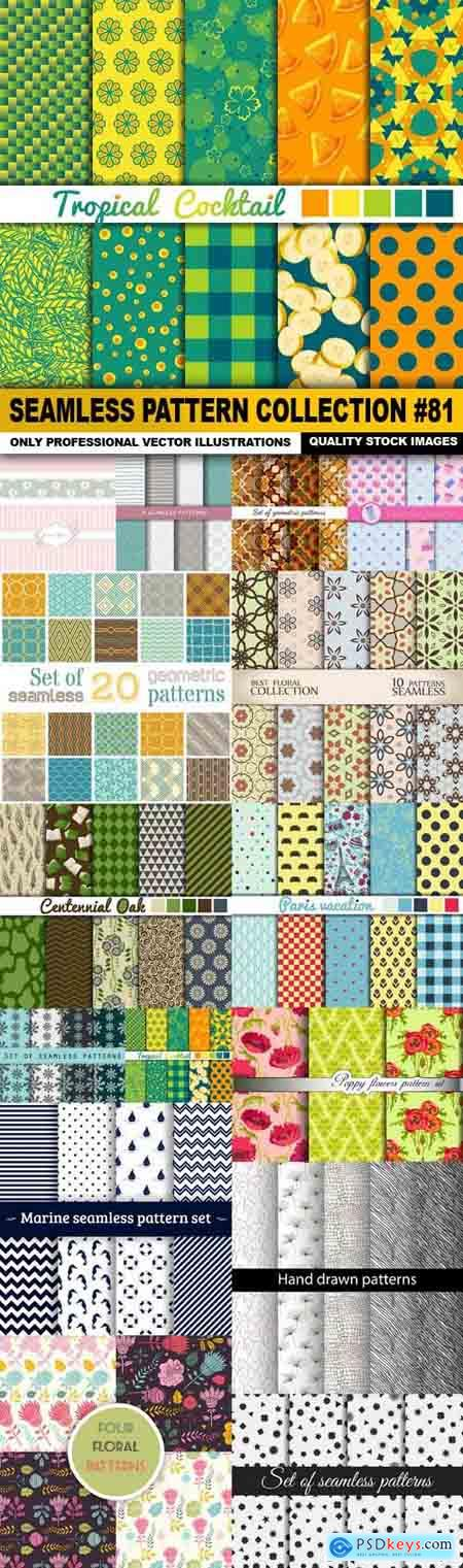 Seamless Pattern Collection #81 - 15 Vector