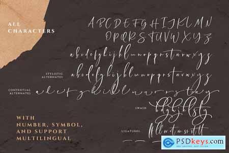 Creativemarket Callistera Signature Script (+BONUS)