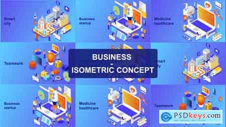 Videohive Business - Isometric Concept Free